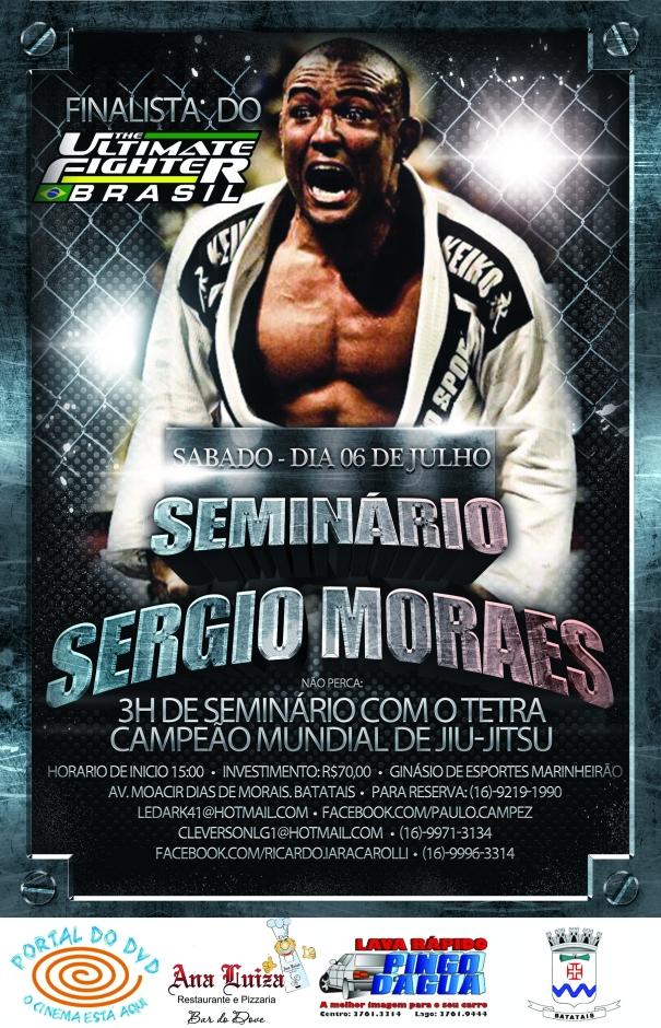 Seminario com o tetra campeão Sergio Moraes